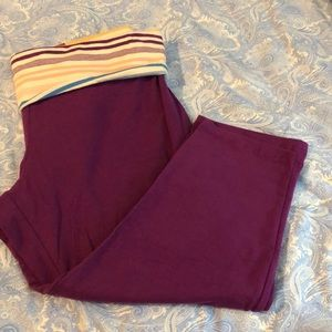 Pants - Yoga Capri Pant